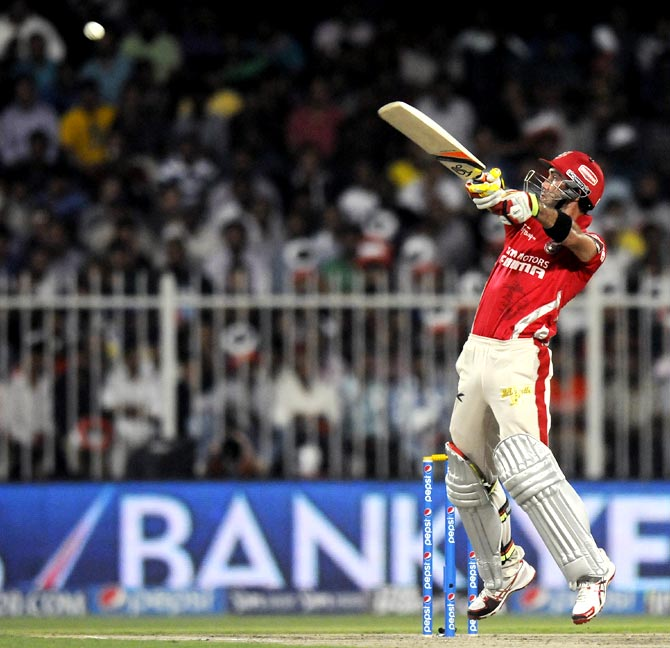 'Big Show' Maxwell says having a bit of fun in the IPL!