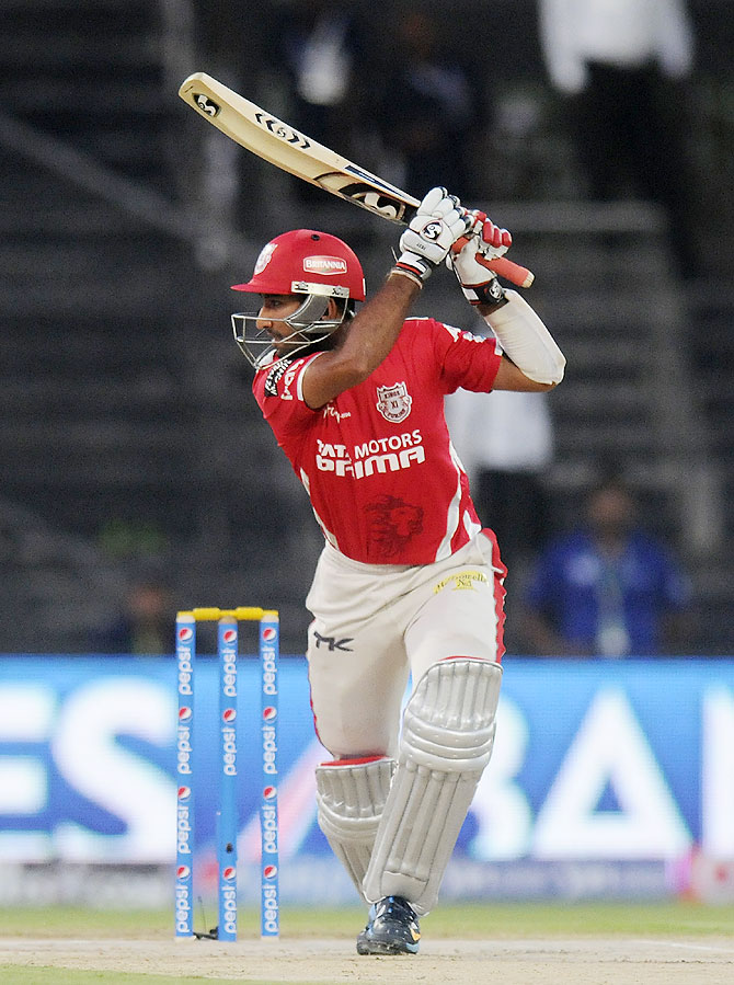 Cheteshwar Pujara of the Kings X1 Punjab bats