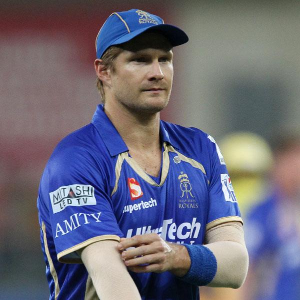 Rajasthan Royals captain Shane Watson