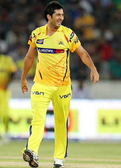 Mohit Sharma of Chennai Super Kings