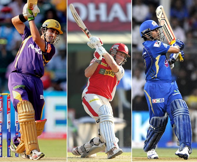 Who scored the most runs in the inaugural IPL, in 2008?