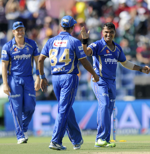 Four-star Pravin Tambe helps Rajasthan Royals thrash Bangalore