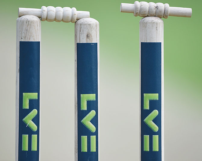 New low in England Cricket; league team bowled out for three