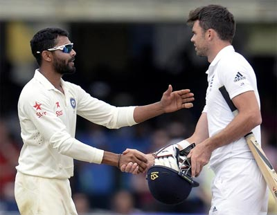 ICC finds Anderson, Jadeja not guilty of breaching code of conduct