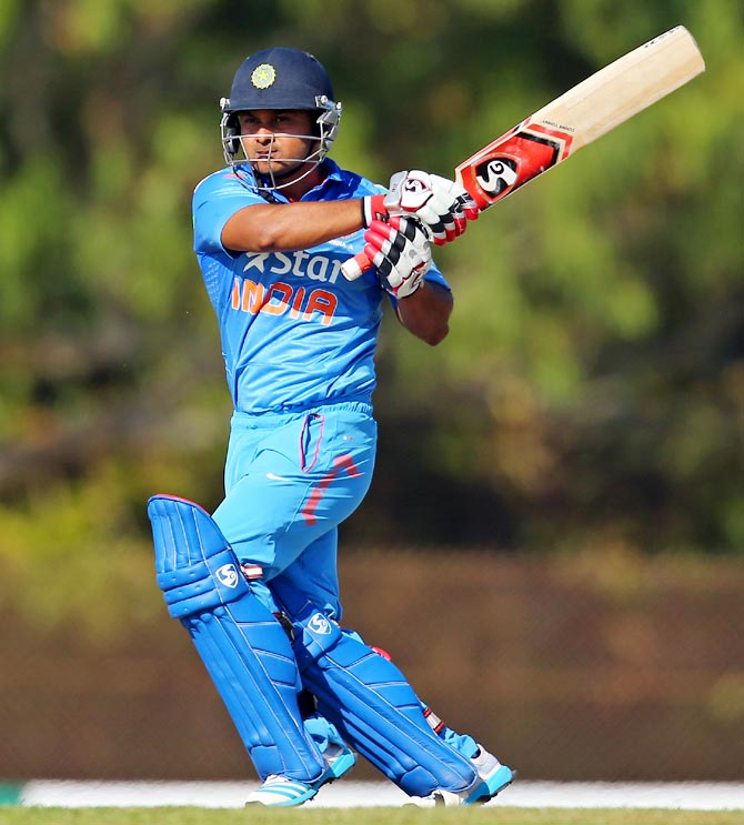Kedar Jadhav of India 'A'