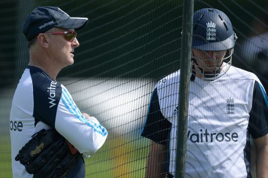 Graham Thrope and Gary Ballance