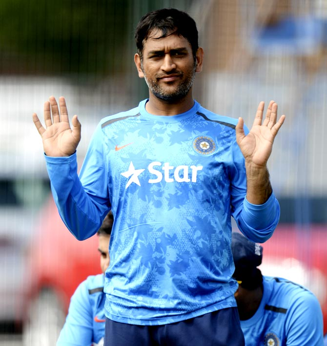 Dhoni hits back: 'It was physical contact that we reported'