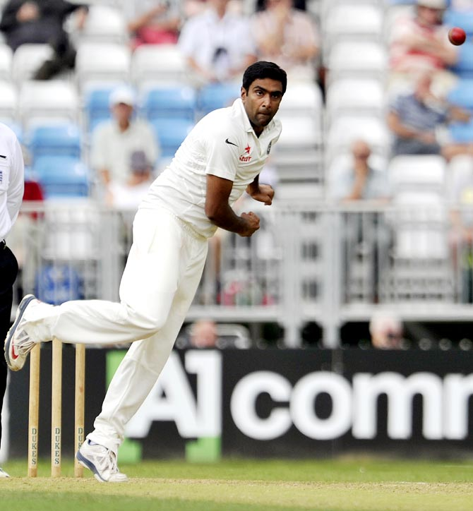 Ravichandran Ashwin of India