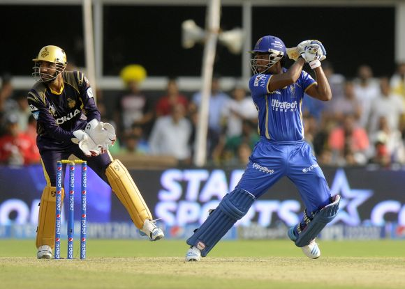 Sanju Samson in the IPL.