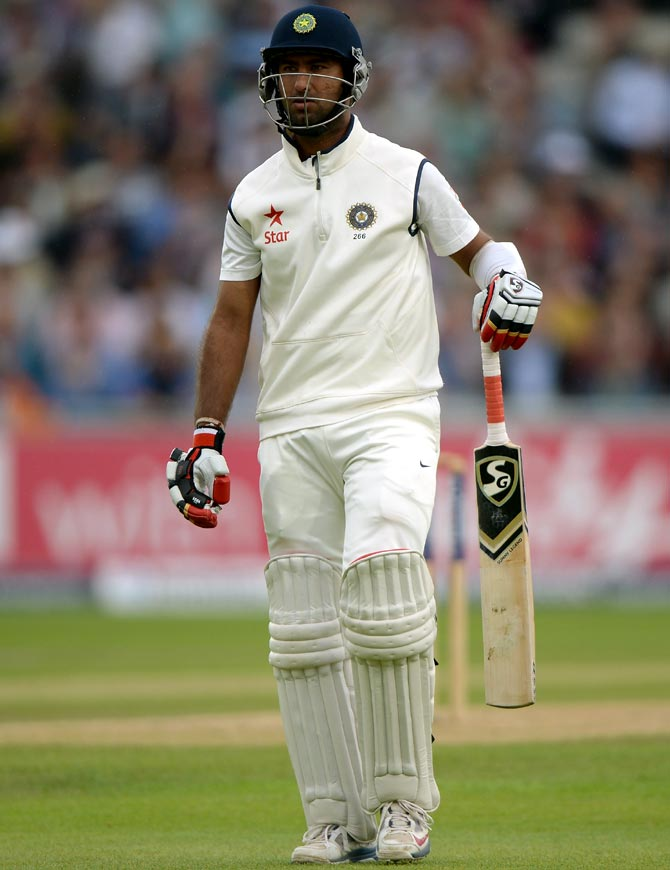 Cheteshwar Pujara of India