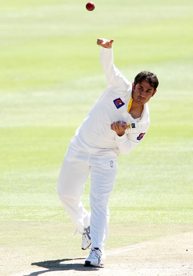 Saeed Ajmal of Pakistan