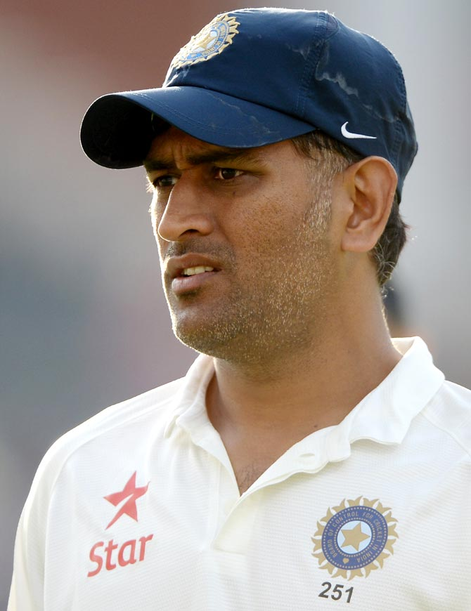 Mahendra Singh Dhoni of India