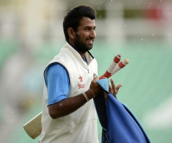 Rediff Cricket - Indian cricket - Struggling Pujara gets BCCI nod to play county cricket