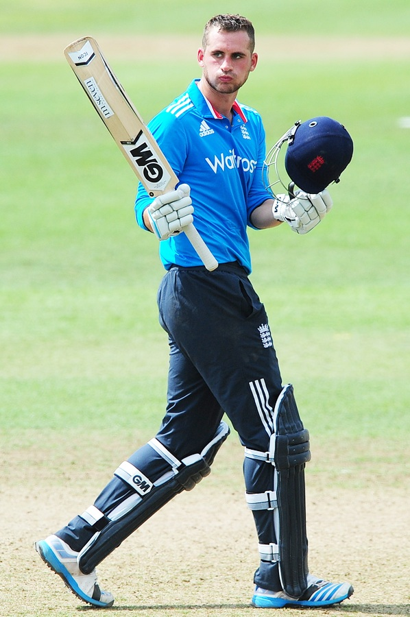 Alex Hales of England