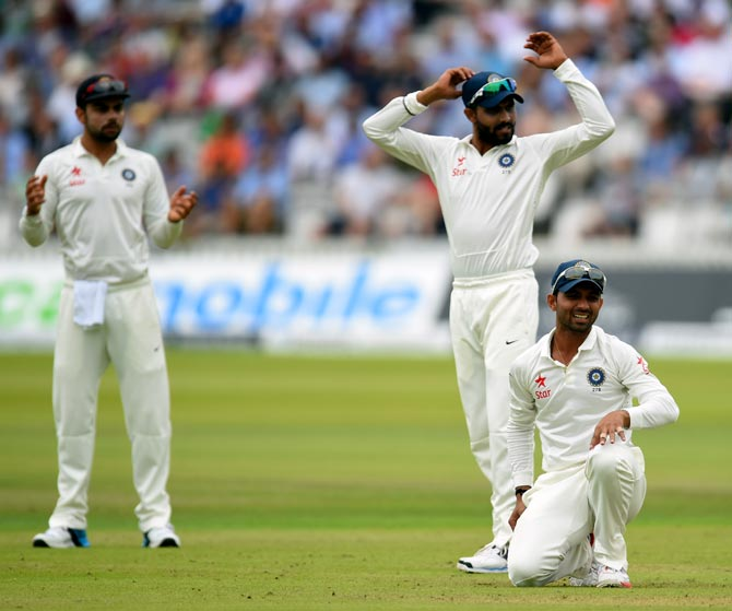 Rediff Cricket - Indian cricket - India drop to fifth in Test rankings after England disaster