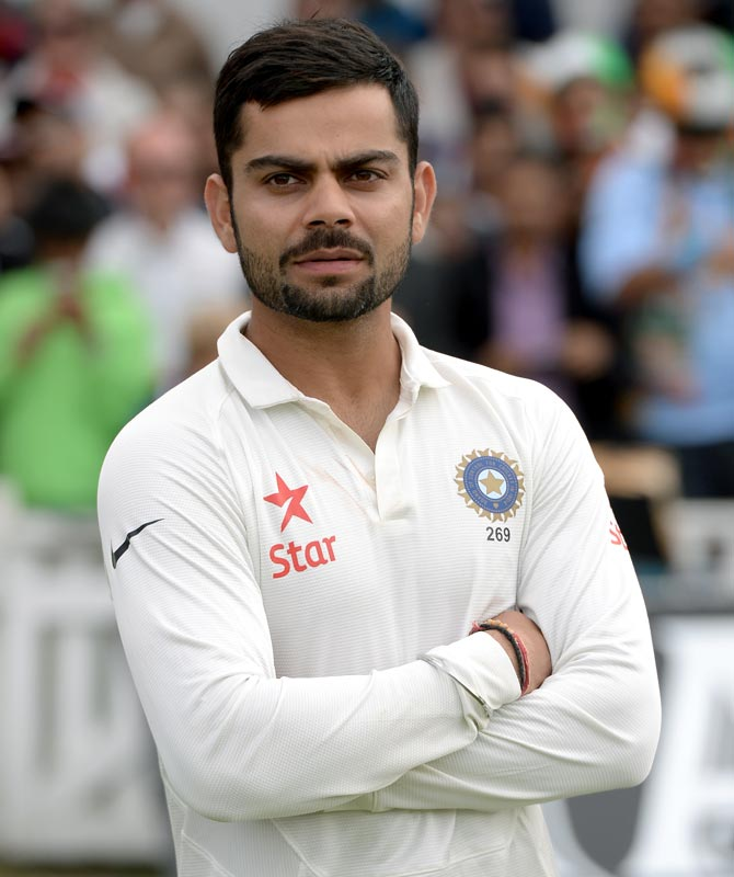 Rediff Cricket - Indian cricket - Numbers game: Kohli's showing third worst by an Indian at No 4!
