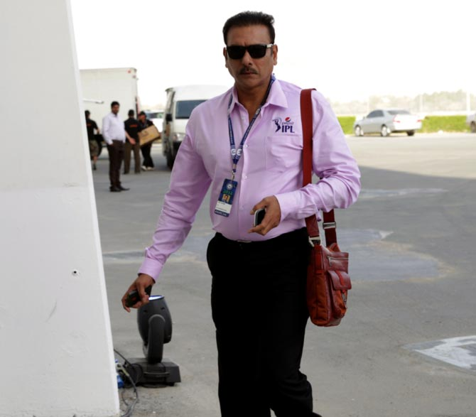 My role is to oversee everything, all of them report to me: Shastri