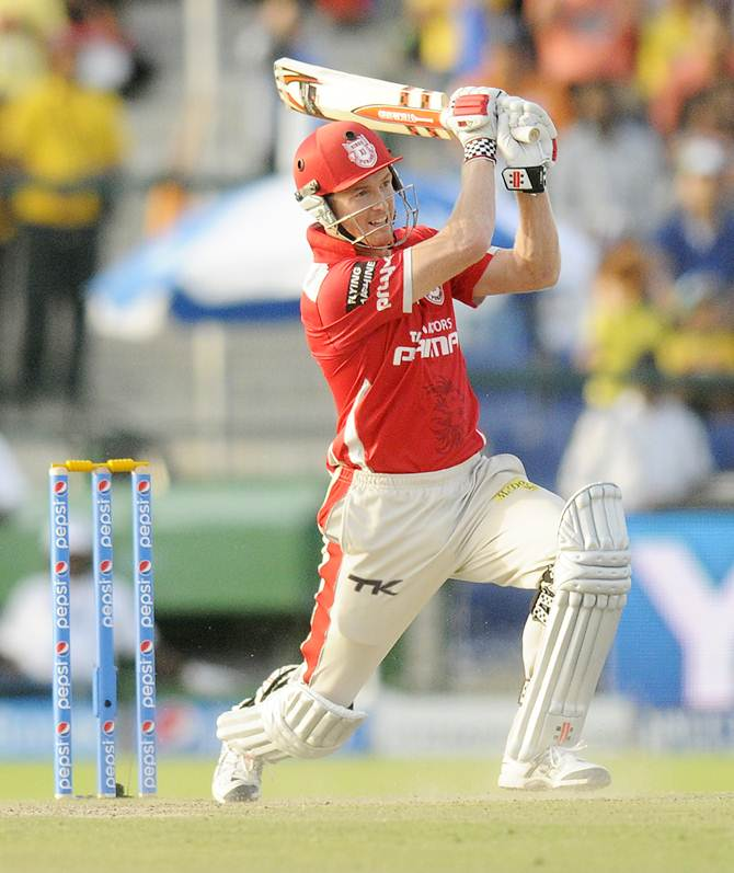 Kings XI Punjab's George Bailey