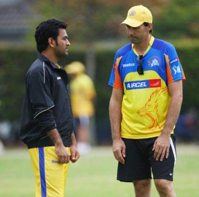 Stephen Fleming: 'A Dhoni under pressure is still your best option'