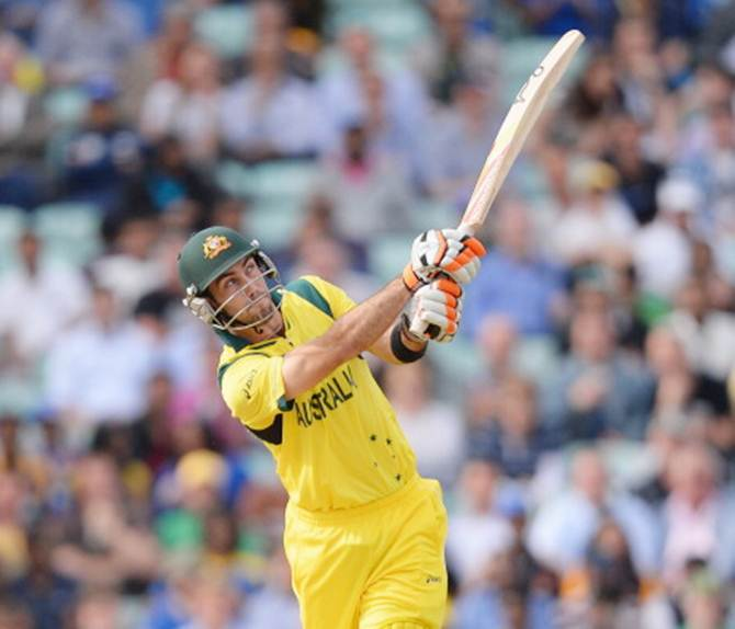 Rediff Cricket - Indian cricket - Cricket Buzz: Maxwell misses ton as Australia trounce Zimbabwe