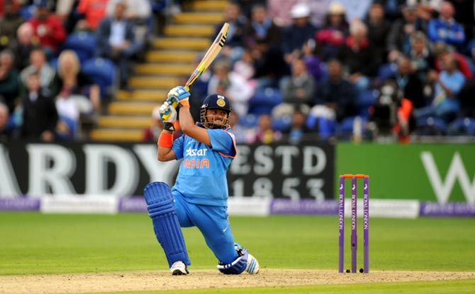 To help break the jinx with a century was satisfying: Raina