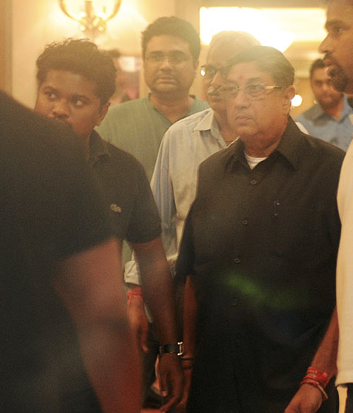 Onus on disproving conflict of interest on Srinivasan, says SC