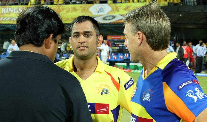 Why should I ask Dhoni to resign: Srinivasan