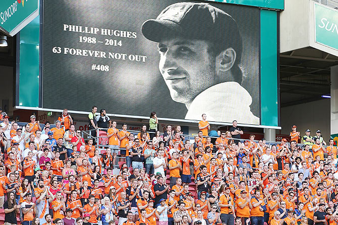A tribute to Phil Hughes in 2014
