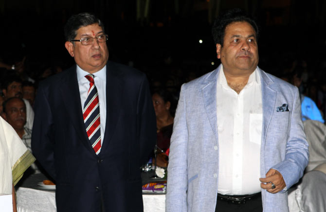 Srinivasan says he consulted Pawar before buying CSK