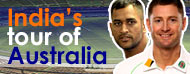 India's Tour of Aus