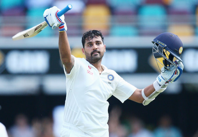 Rediff Cricket - Indian cricket - 'Getting runs against Australia always helps you gain confidence'