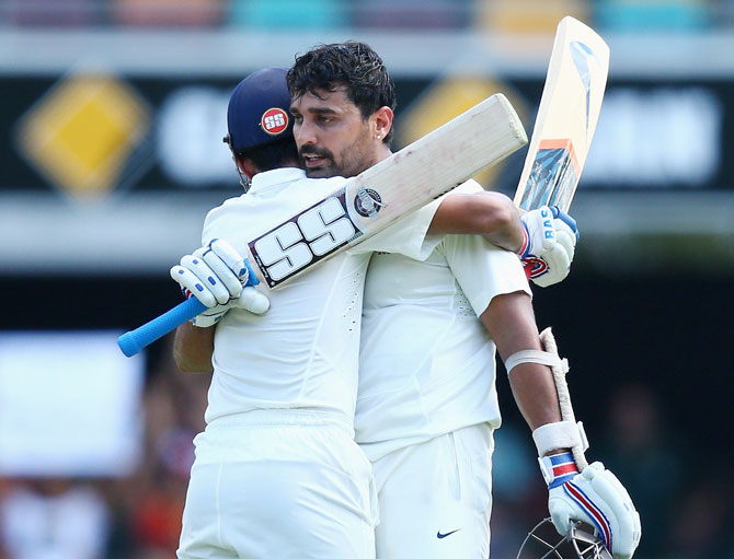 Rediff Cricket - Indian cricket - Stats: Vijay completes 2, 000 Test runs; Dhoni overtakes Ganguly