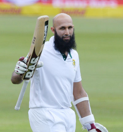 Rediff Cricket - Indian cricket - Centurion Test: Amla, Zyl punish Windies before rain ends play