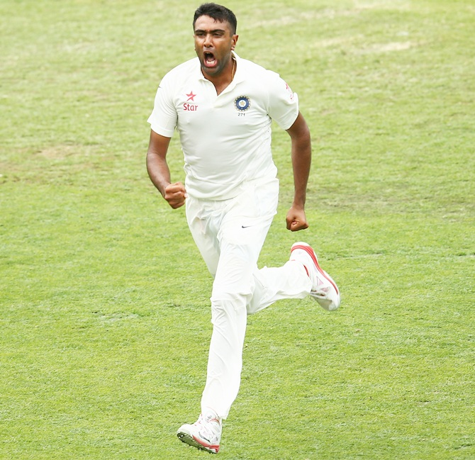 Rediff Cricket - Indian cricket - Can Ashwin displace Pakistan's Yasir from the top?