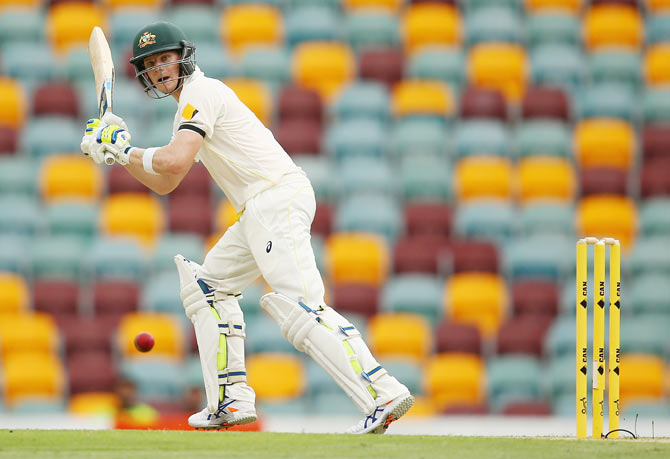Rediff Cricket - Indian cricket - PHOTOS, Day 2: Hazlewood, Smith lead Australia's fightback