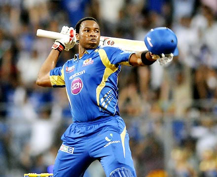Rediff Cricket - Indian cricket - Big Bash: Pollard blasts six sixes in an over in trial match!