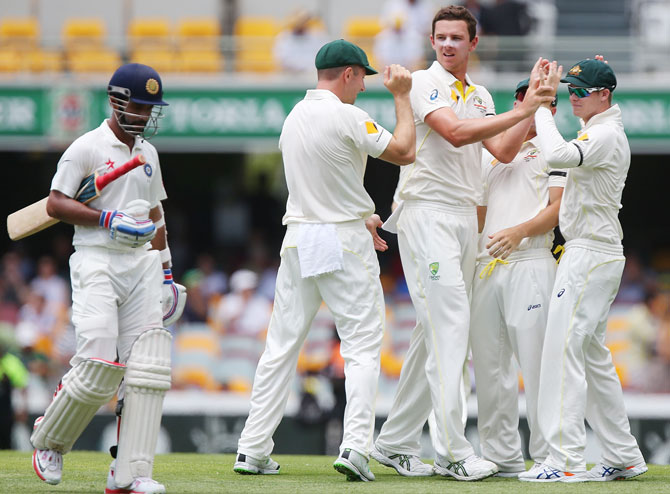 Rediff Cricket - Indian cricket - 'India have a slight edge going into day three at The Gabba'
