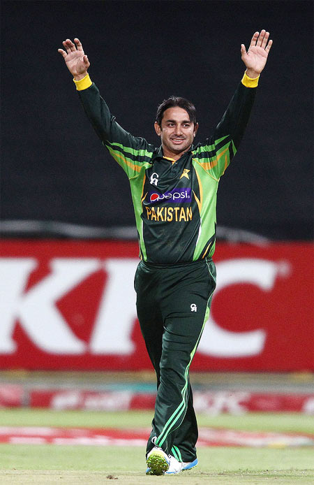 Rediff Cricket - Indian cricket - Suspended Ajmal named in Pakistan 'A' squad