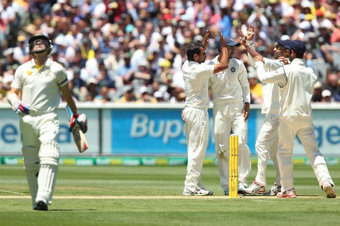 Rediff Sports - Cricket, Indian hockey, Tennis, Football, Chess, Golf - India bowled best in series so far, says Gavaskar