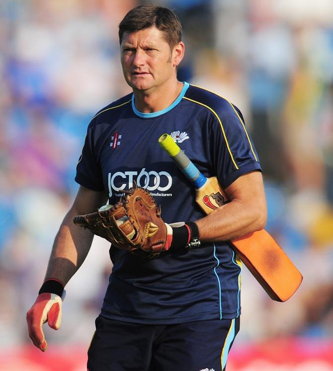 Yorkshire coach Martyn Moxon