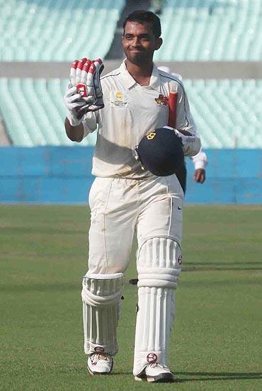 Rohit, Rahane sizzle but India draws practice match