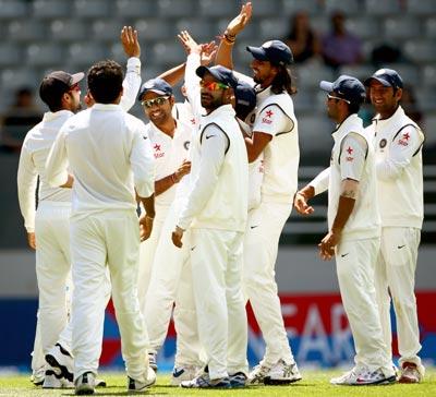 Seventeen wickets were taken on the third day