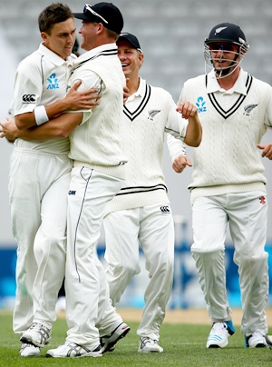 Boult recorded his best bowling figures against India