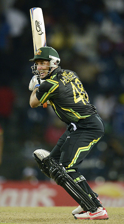 Michael Hussey is value for money.