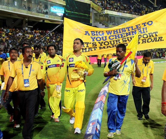Chennai ended up with a squad of 20, the lowest among all...