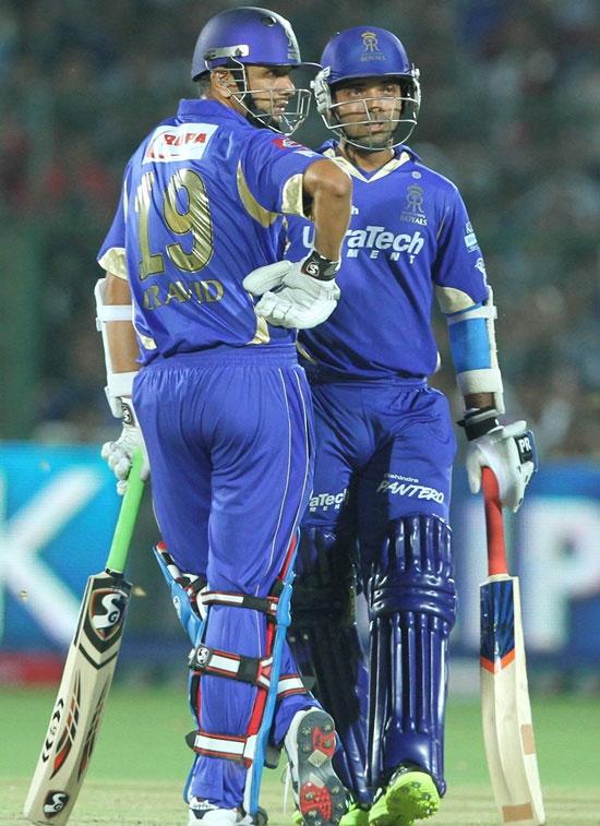 Rahul Dravid and Ajinkya Rahane