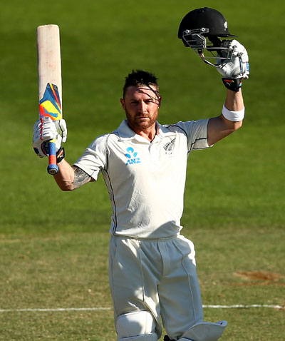 Captain McCullum leads New Zealand's revival at Basin Reserve