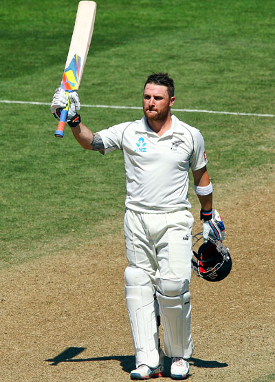 McCullum leads from the front as New Zealand bat India out