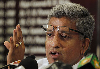 Sri Lanka Cricket (SLC) Secretary Nishantha Ranatunga
