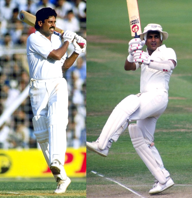 Kapil Dev/Sunil Gavaskar